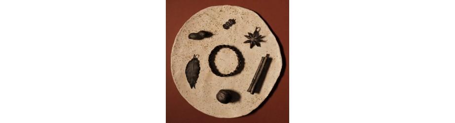 Kolekcja AURA SPICE - ręcznie robiona biżuteria z przypraw. - NIMBALA
