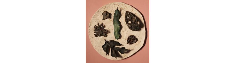 Kolekcja HOME JUNGLE - ręcznie robiona biżuteria z roślin. - NIMBALA